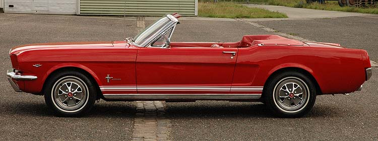 Ford Mustang Convertible 1964½ - superfin
